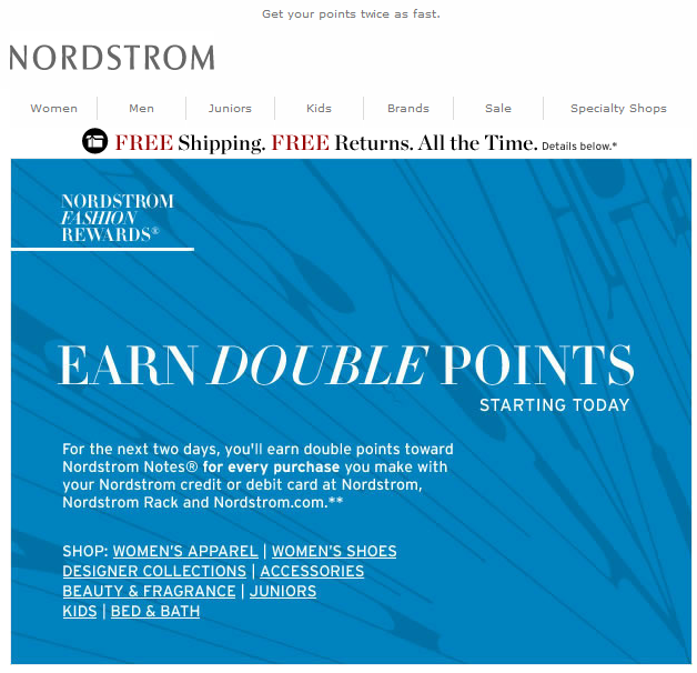 How to Use Email to Engage Customers: The Case of Nordstrom